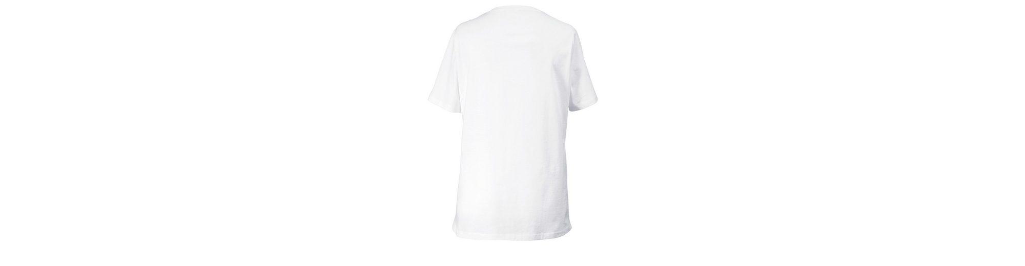 Rabatt Exklusiv Janet und Joyce by Happy Size Shirt mit Strass Online-Shopping Günstigen Preis t9iDby