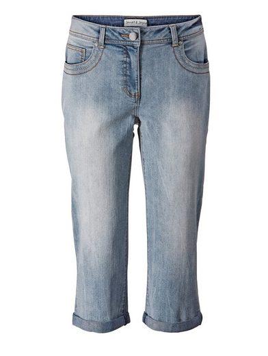 Janet und Joyce by Happy Size Jeans in Caprilänge