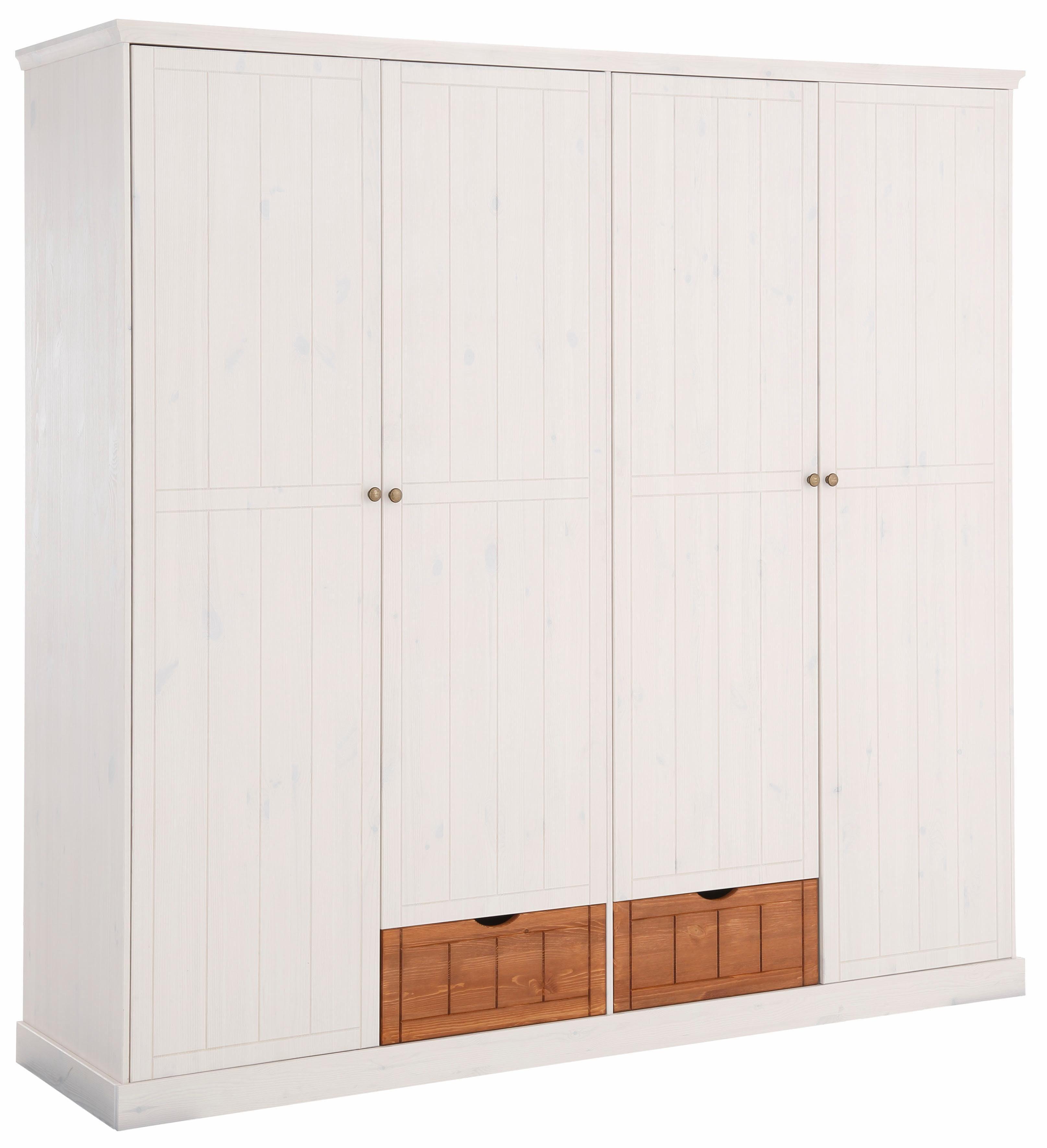 Home affaire Kleiderschrank «Bristol», 2-, 3-, 4-, oder 5-türig, 2-farbig