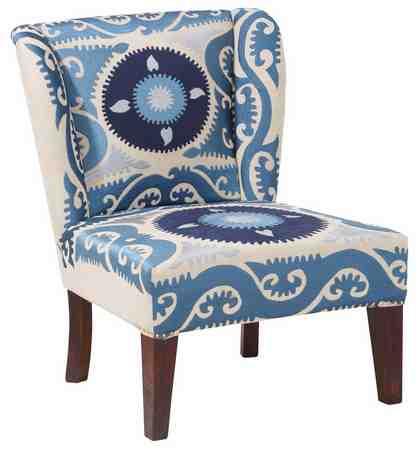 Home affaire Sessel »Sky«, Strukturstoff Baumwolle mit eingewebtem Muster