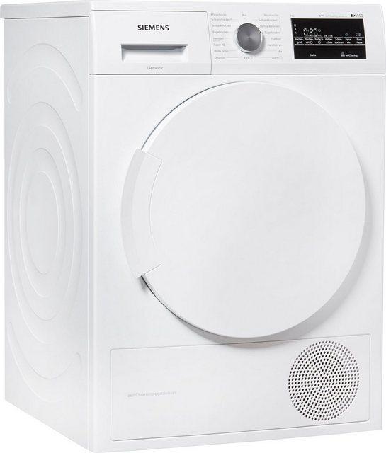 SIEMENS Wärmepumpentrockner IQ500 WT45W4ECO| 8 kg | Bad > Waschmaschinen und Trockner > Wärmepumpentrockner | Siemens