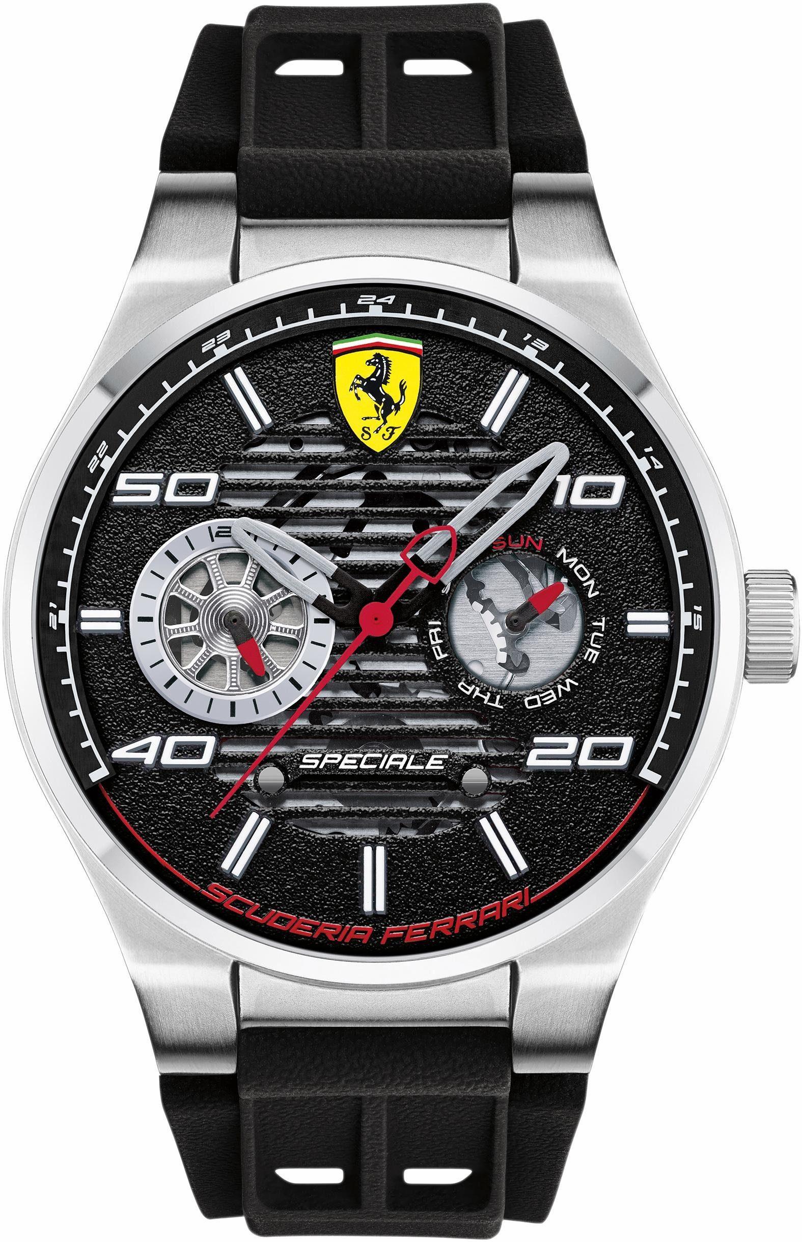 Scuderia Ferrari Multifunktionsuhr »Speciale, 830429«
