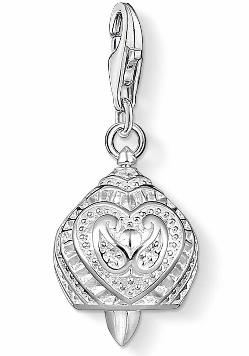 THOMAS SABO Charm-Einhänger »Glocke mit Herz, 1400-001-12«