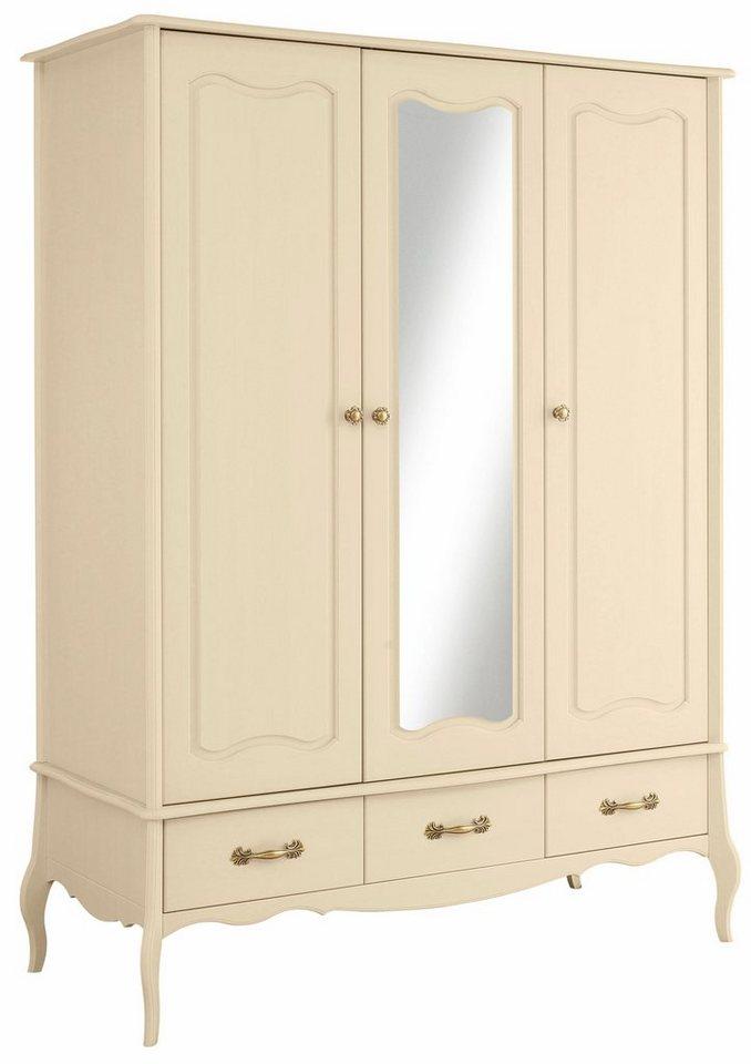 Home Affaire Kleiderschrank Lebo 3 Oder 4 Turig In 2 Farben In Romantischem Design Online Kaufen Otto