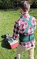 Hydas Garten-Aktiv-Stützgürtel (1-tlg), ideal bei Garten- und Hausarbeit, Bild 1