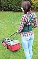 Hydas Garten-Aktiv-Stützgürtel (1-tlg), ideal bei Garten- und Hausarbeit, Bild 3