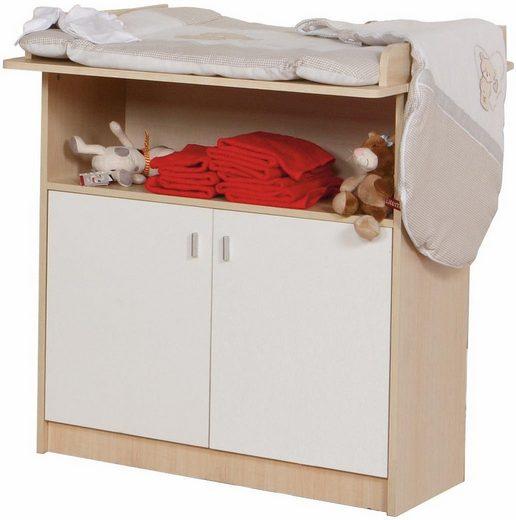 roba wickelkommode lena breit ahorn wei kaufen otto. Black Bedroom Furniture Sets. Home Design Ideas