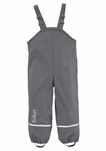 Scout Regen- und Matschlatzhose mit wärmendem Fleece gefüttert und reflektierenden Details