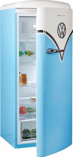 GORENJE Kühlschrank VW Bulli OBRB153BL, 154 cm hoch, 60 cm breit