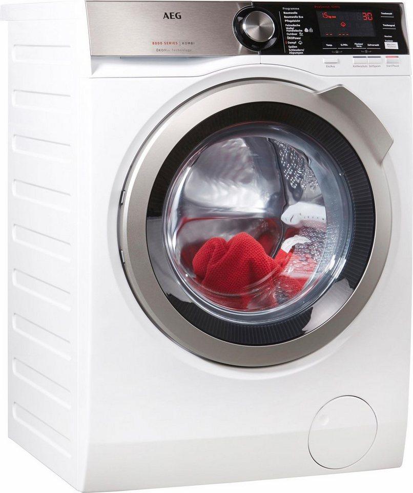 aeg waschtrockner l8we86605 a 10 kg 6 kg u min online kaufen otto. Black Bedroom Furniture Sets. Home Design Ideas