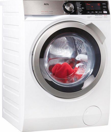AEG Waschtrockner Serie 7000 L7WE86605, 10 kg, 6 kg, 1600 U/min, Energieeffizienzklasse Wasch-Zyklus C, mit DualSense für schonende Pflege