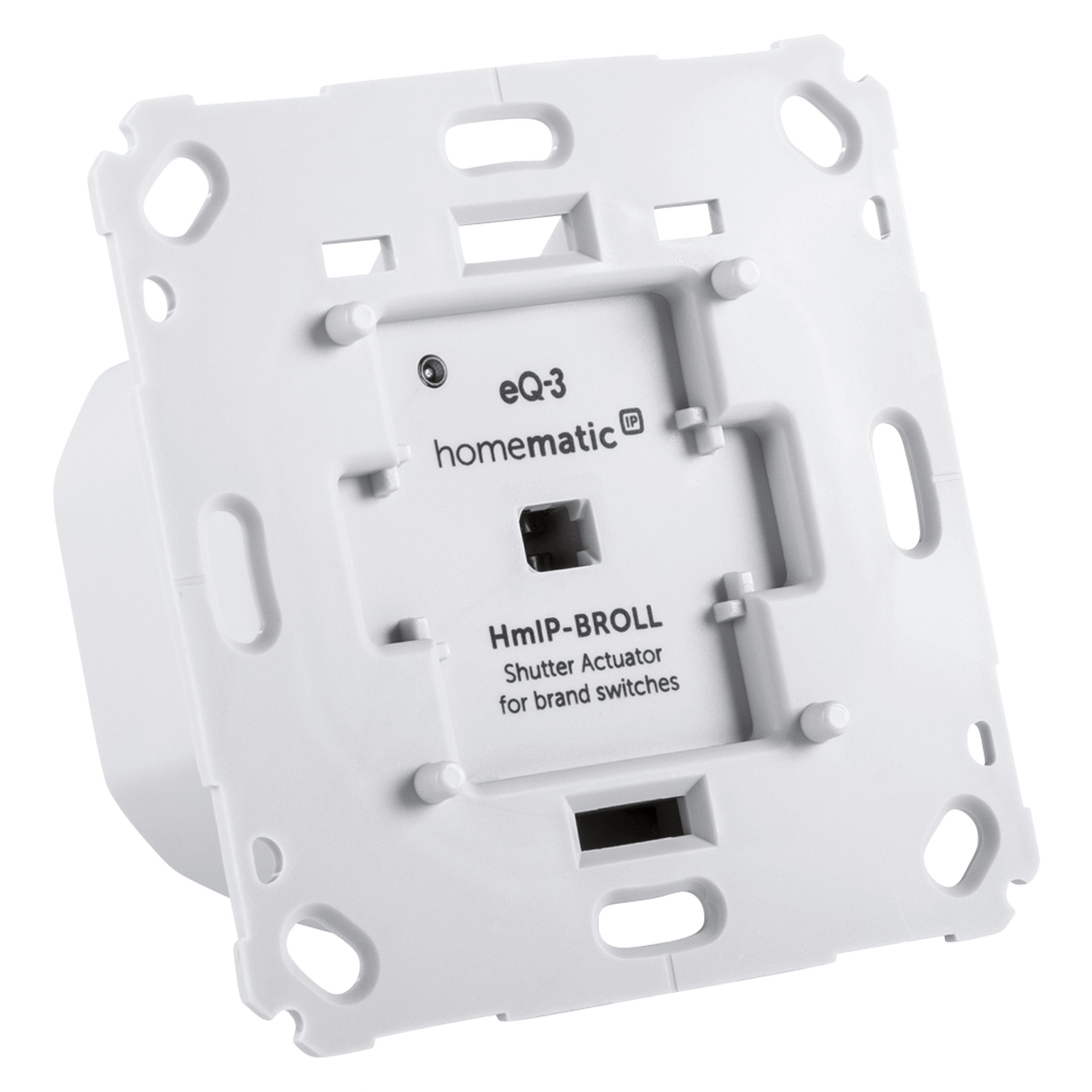 Homematic IP Smart Home - Raumklima & Komfort »Rollladenaktor für Markenschalter - HmIP-BROLL«