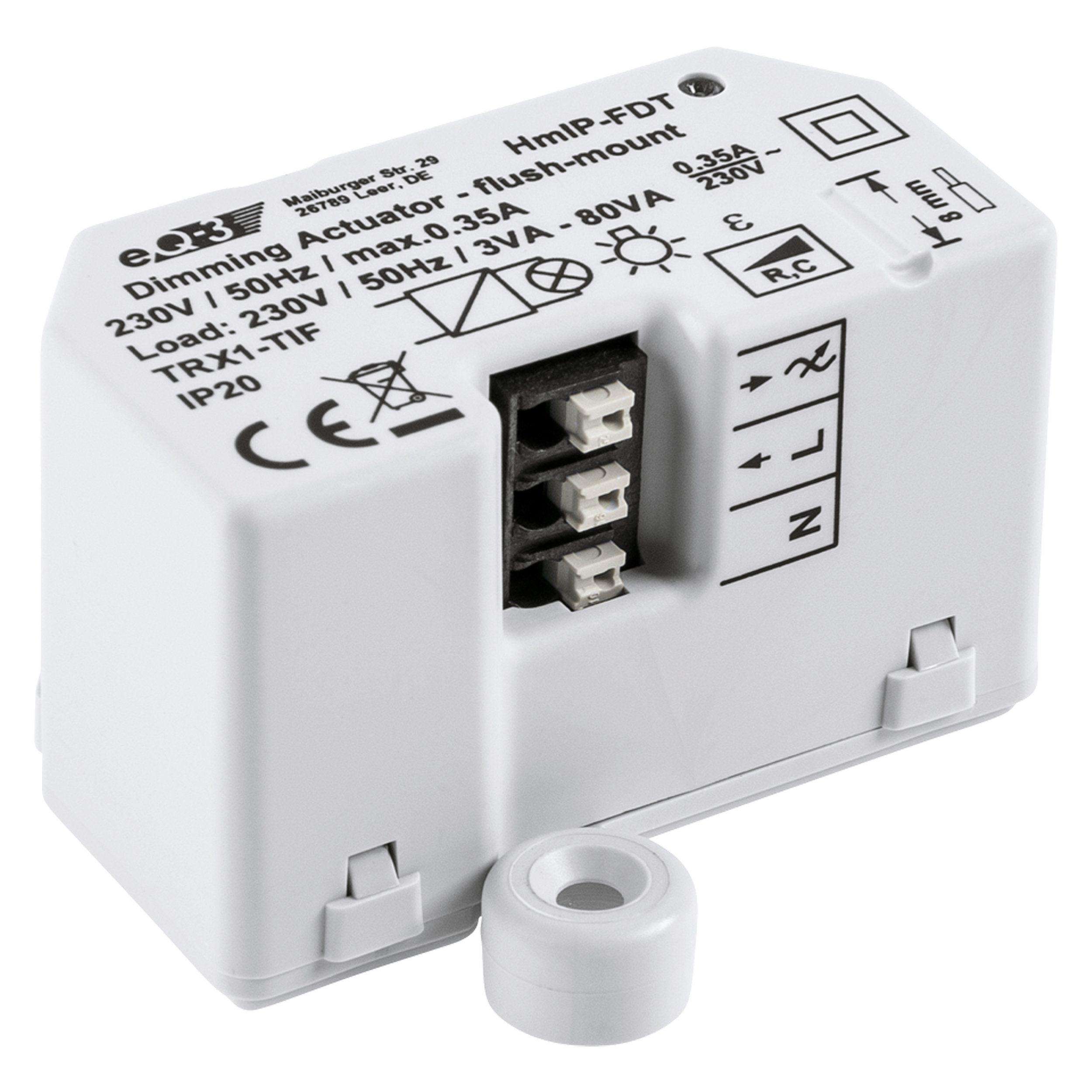 Homematic IP Smart Home - Energie & Komfort »Dimmaktor-Unterputz-Phasenabschnitt - HmIP-FDT«