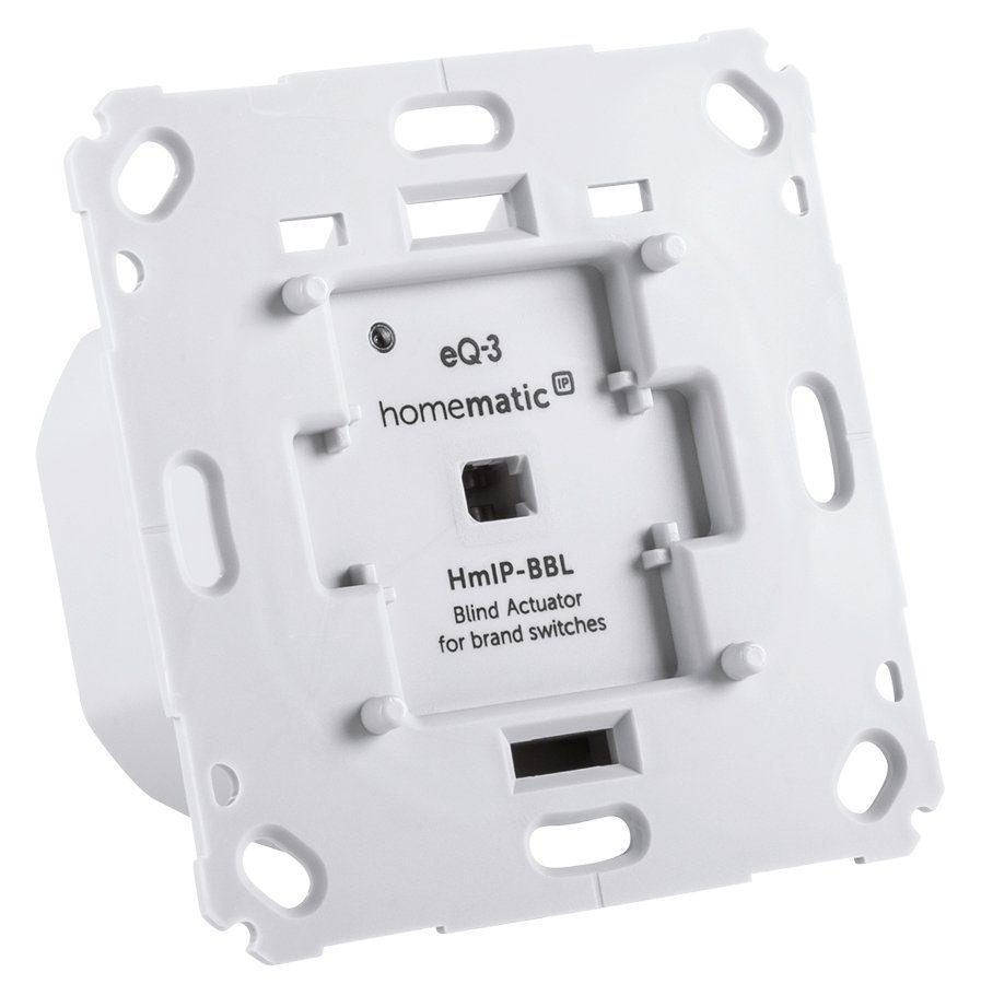 Homematic IP Smart Home - Raumklima & Komfort »Jalousieaktor für Markenschalter - HmIP-BBL«