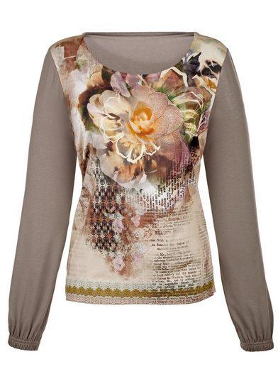 Amy Vermont Shirt mit aufwendigem Druck