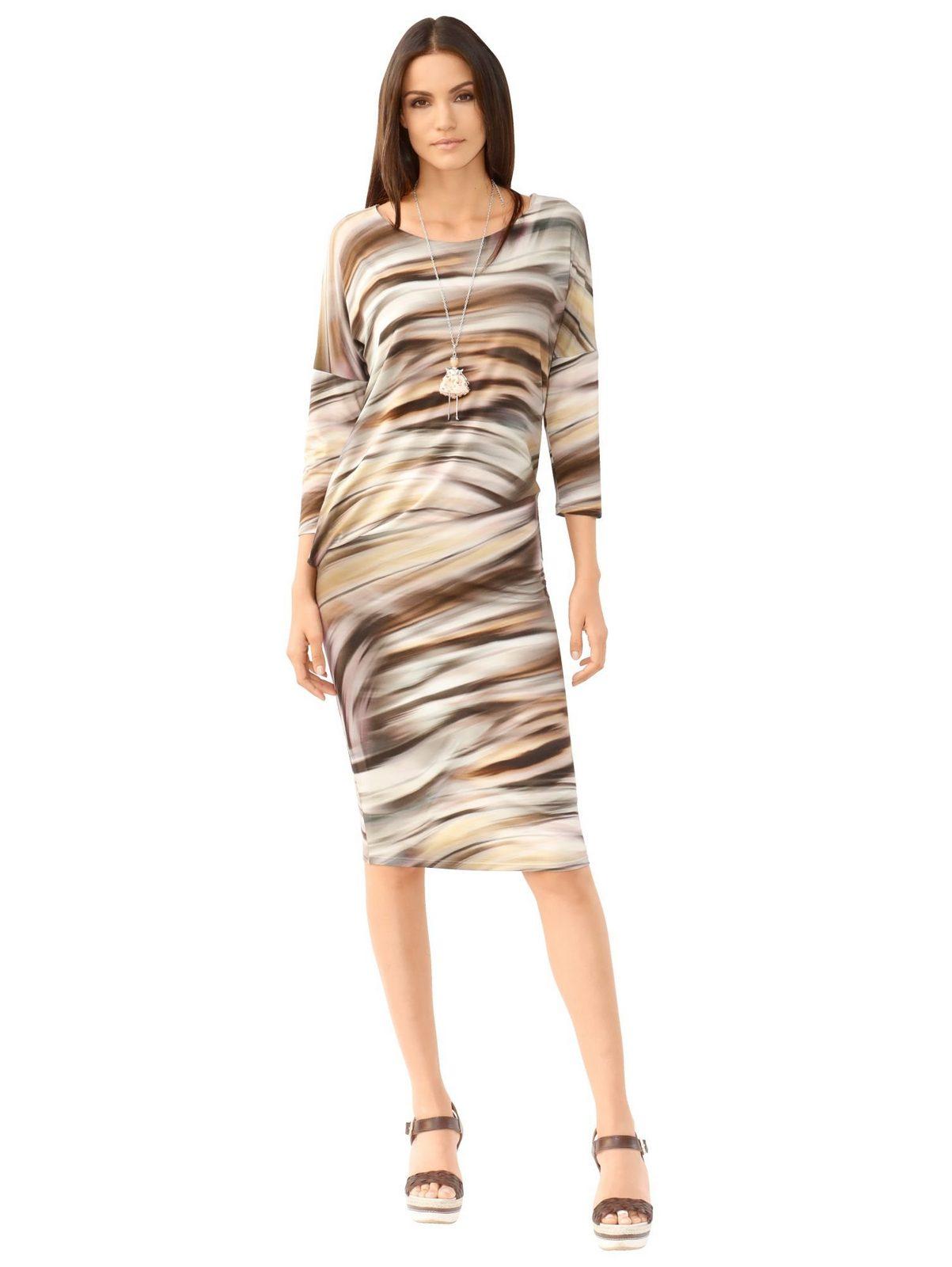 Amy Vermont Kleid in asymmetrischer Form - broschei