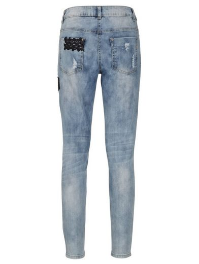 Amy Vermont Jeans mit Patches