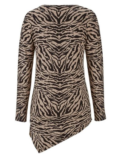 Amy Vermont Sweater With Animal Print