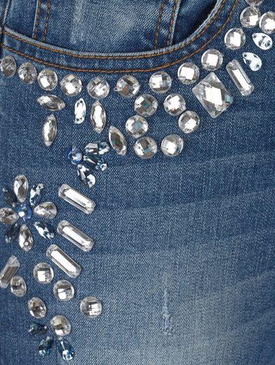 Amy Vermont Jeans Mit Strassdekoration