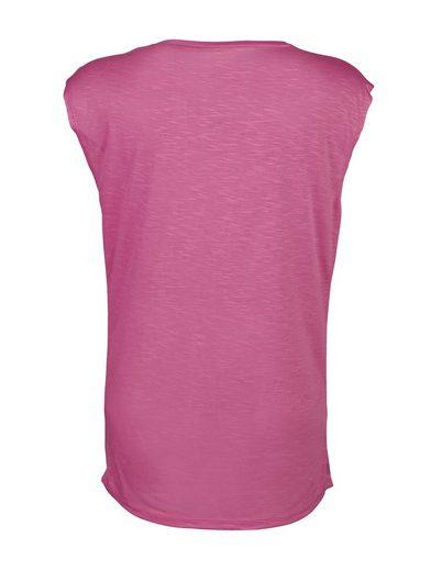 Amy Vermont Shirt mit einer Faltenlegung im Vorderteil