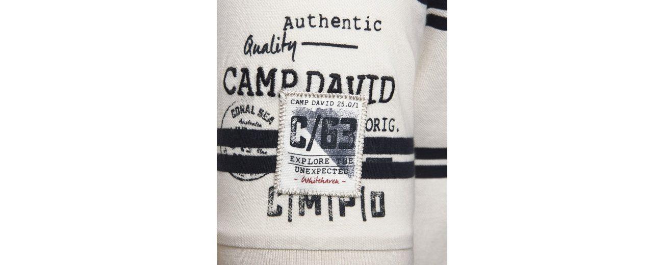 Billig Verkauf Große Diskont CAMP DAVID Poloshirt Steckdose Erkunden Sneakernews Günstig Online mA7AgPz
