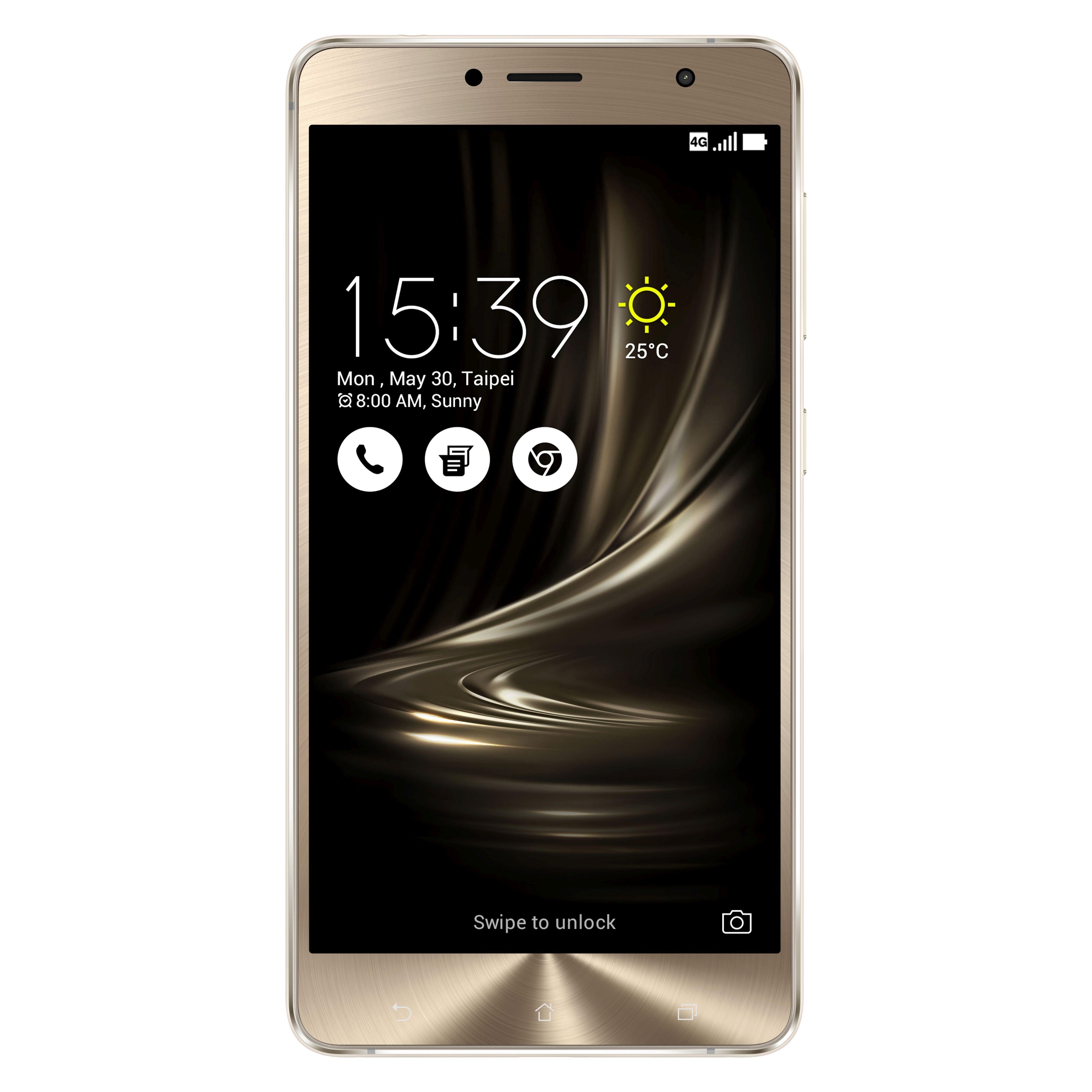 "ASUS ZenFone 3 Deluxe (ZS550KL) »Octa-Core, 14cm (5,5""), 64 GB, 4 GB, LTE, Dual SIM«"