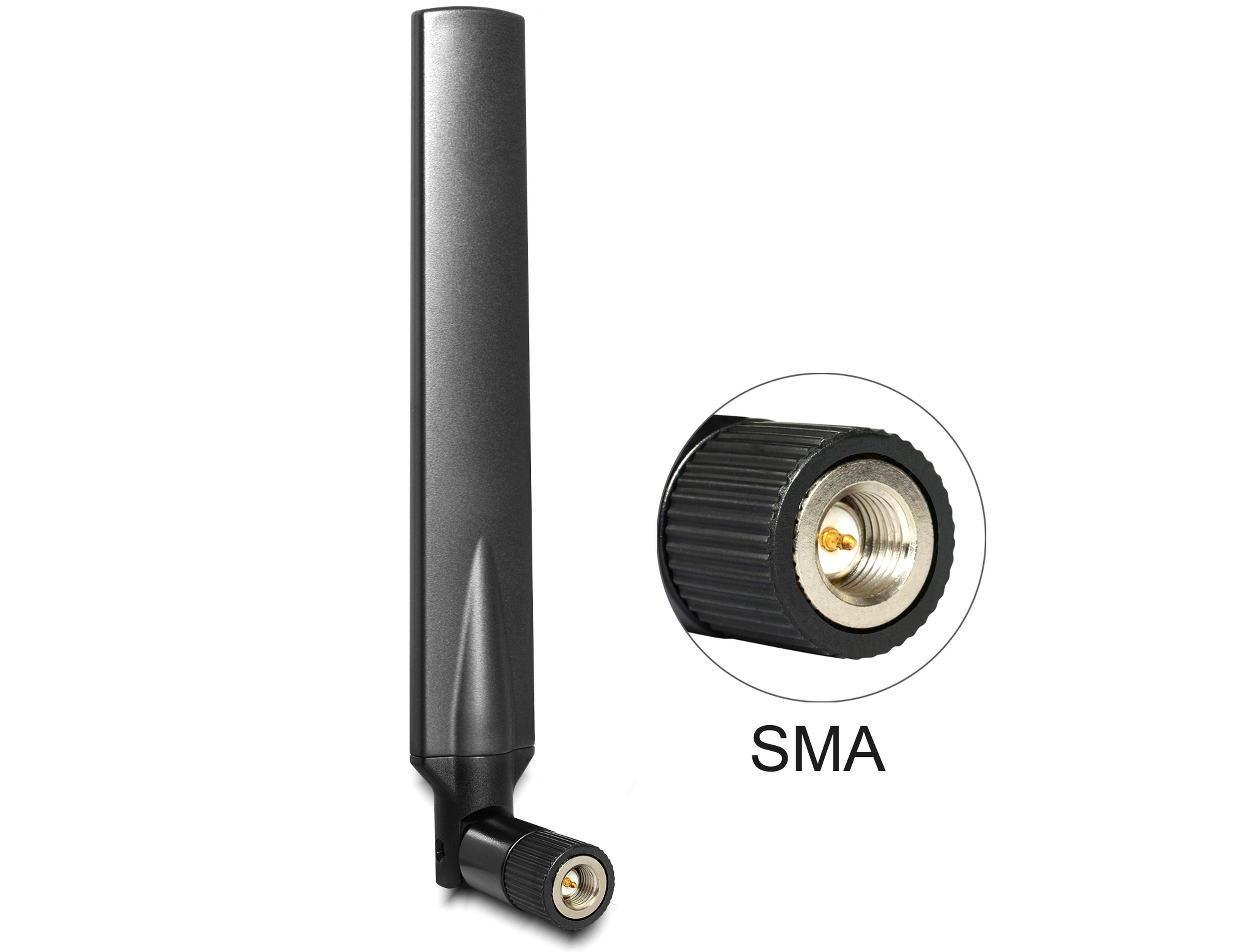 DELOCK LTE Antenne mit Kippgelenk »SMA Stecker 1 - 4 dBi omnidirektional«
