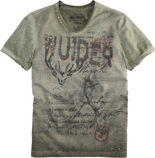 Marjo Costume Shirt Men With Lettering