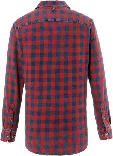 Almgwand Trachtenhemd in verwaschener Optik