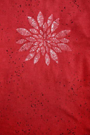 Almgwand Trachtenshirt Damen mit Motiv aus Pailletten