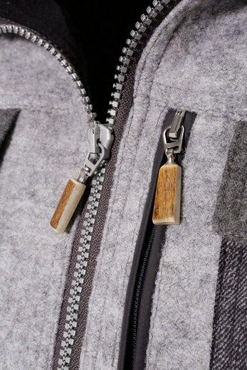 Almgwand Trachtenwalkjacke Herren mit verlängerter Rückseite
