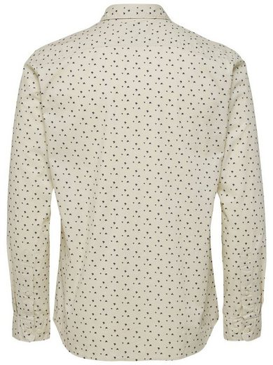 Selected Homme Cut In A Regular Fit Long Sleeved Shirt