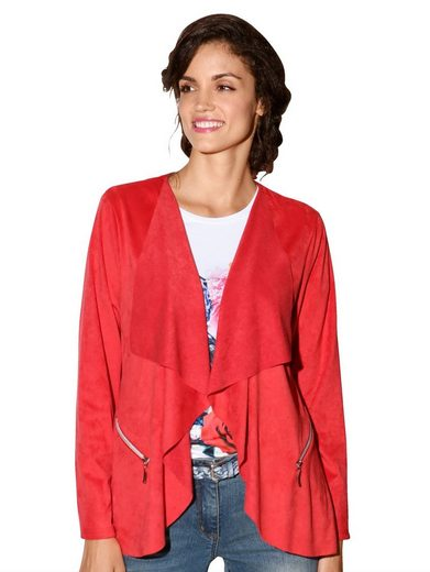 Amy Vermont Jacke in offener Form