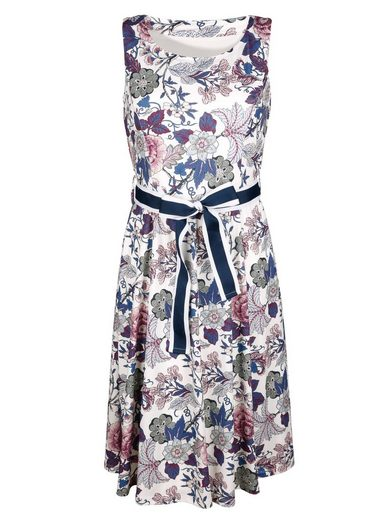 Amy Vermont Jersey Robe Allover Avec Imprimé Floral