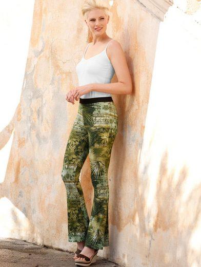 Amy Vermont Hose mit Dschungeldruck