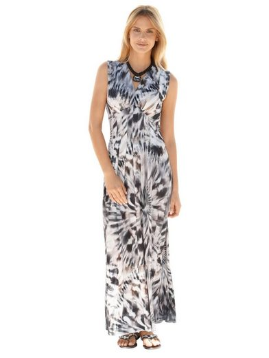 Amy Vermont Jersey Dress With Graphic Print