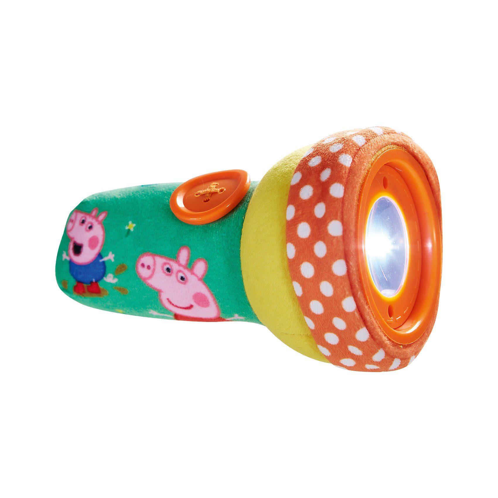 WORLDS APART Soft Taschenlampe, Peppa Pig