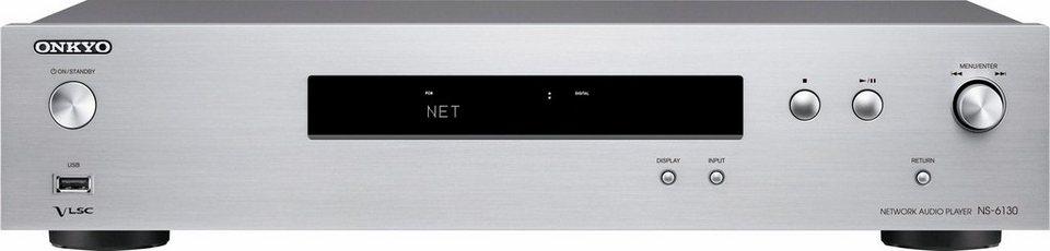 onkyo ns 6130 2 kanal netzwerkplayer hi res spotify deezer airplay wlan multiroom online. Black Bedroom Furniture Sets. Home Design Ideas