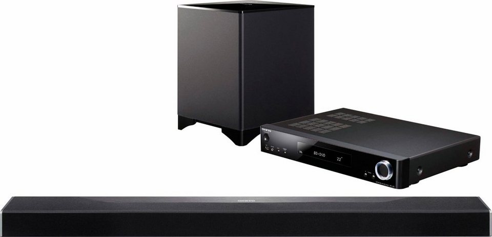 onkyo ls7200 b soundbar multiroom bluetooth wifi. Black Bedroom Furniture Sets. Home Design Ideas