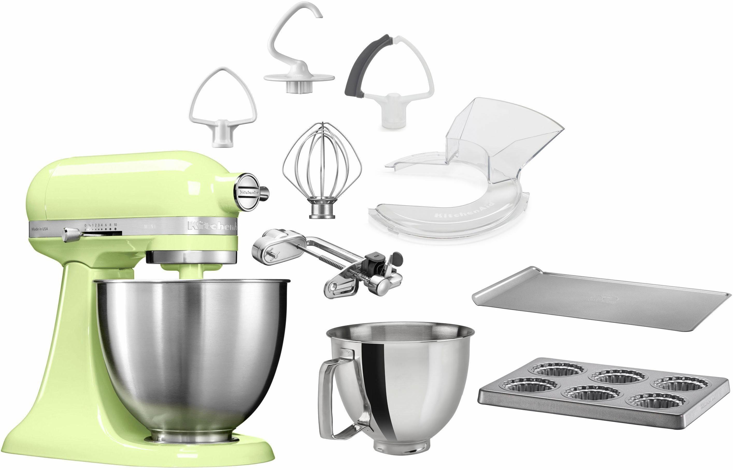 KitchenAid® Küchenmaschine Mini 5KSM3311XEHW, mit Sonderzubehör im Wert von 246,-€ UVP