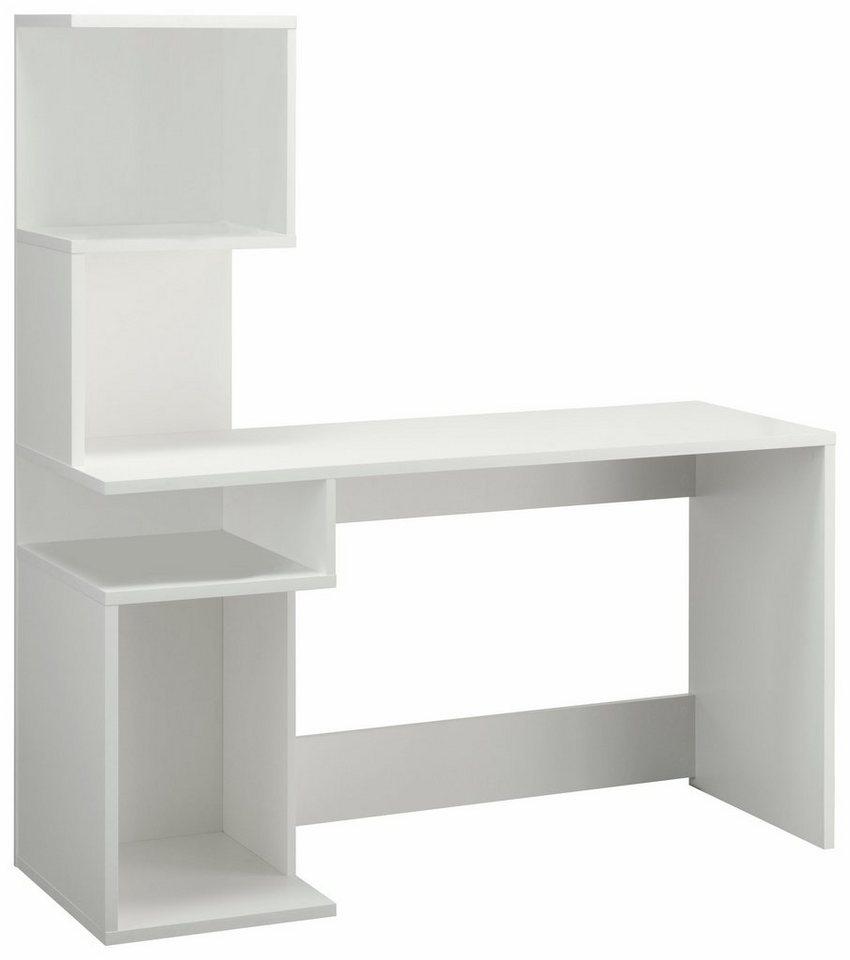 schreibtisch alice mit 4 f chern und frei im raum stellbar online kaufen otto. Black Bedroom Furniture Sets. Home Design Ideas