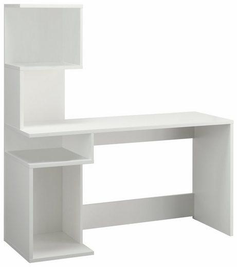 Schreibtisch »Alice«, mit 4 Fächern und frei im Raum stellbar