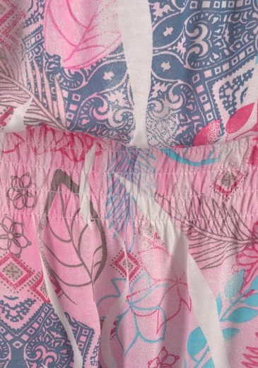 Buffalo Carmenshirt mit Blumendruck