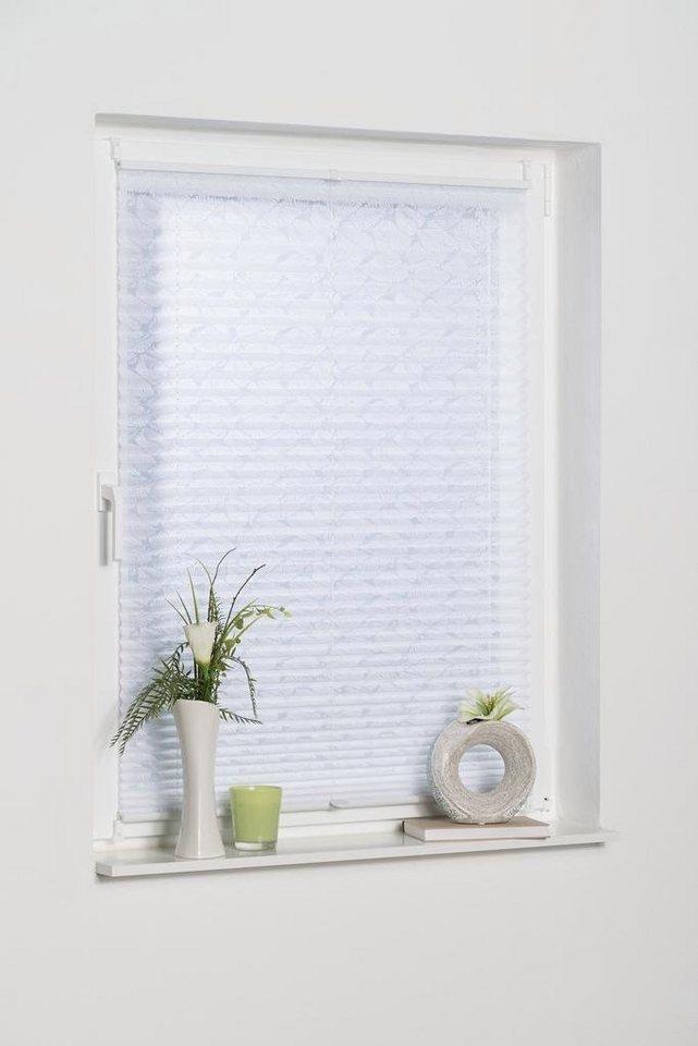 plissee capri k home lichtschutz ohne bohren in f hrungsschienen online kaufen otto. Black Bedroom Furniture Sets. Home Design Ideas