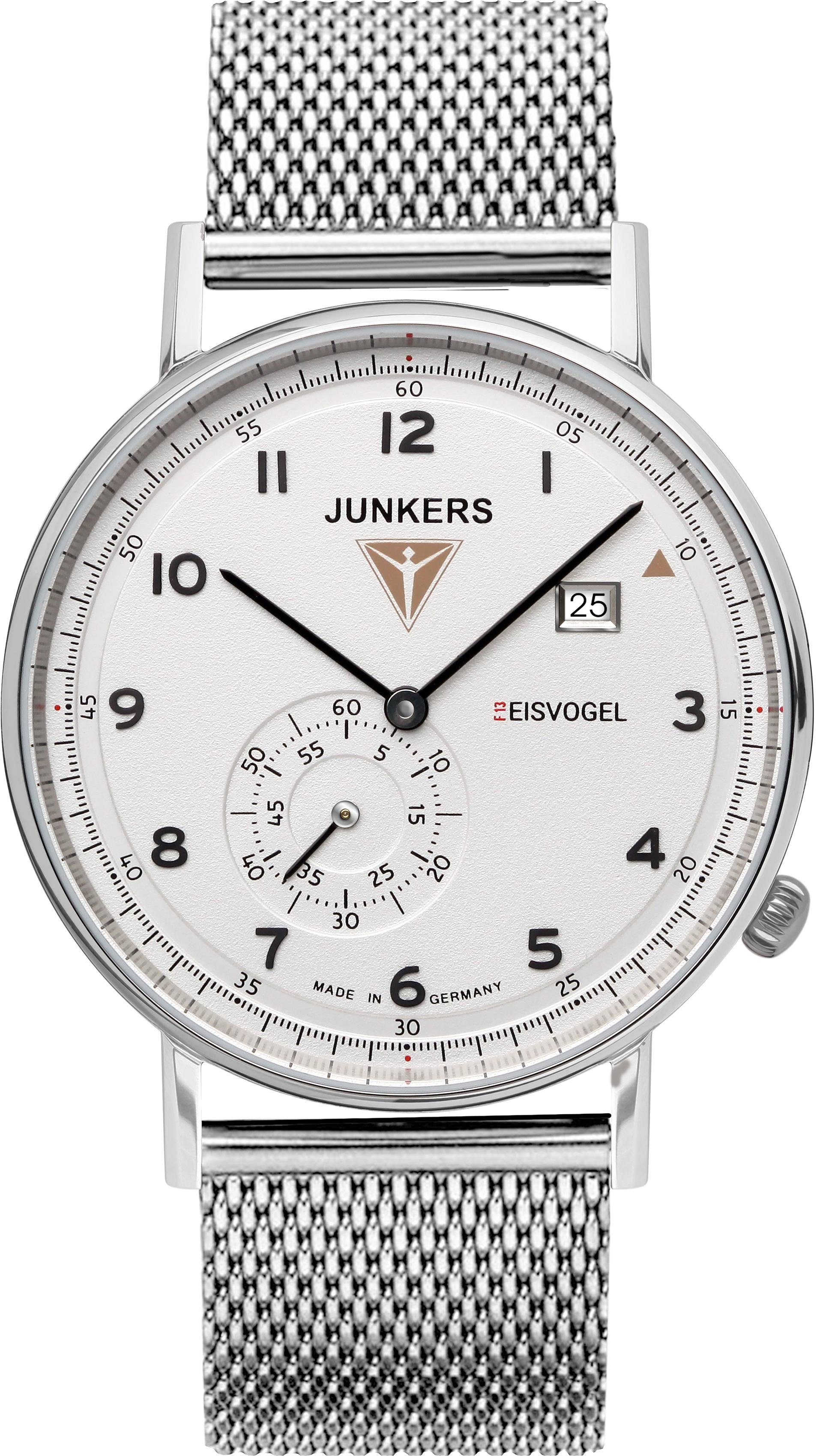 Junkers-Uhren Quarzuhr »Eisvogel, 6730-M-1« Made in Germany