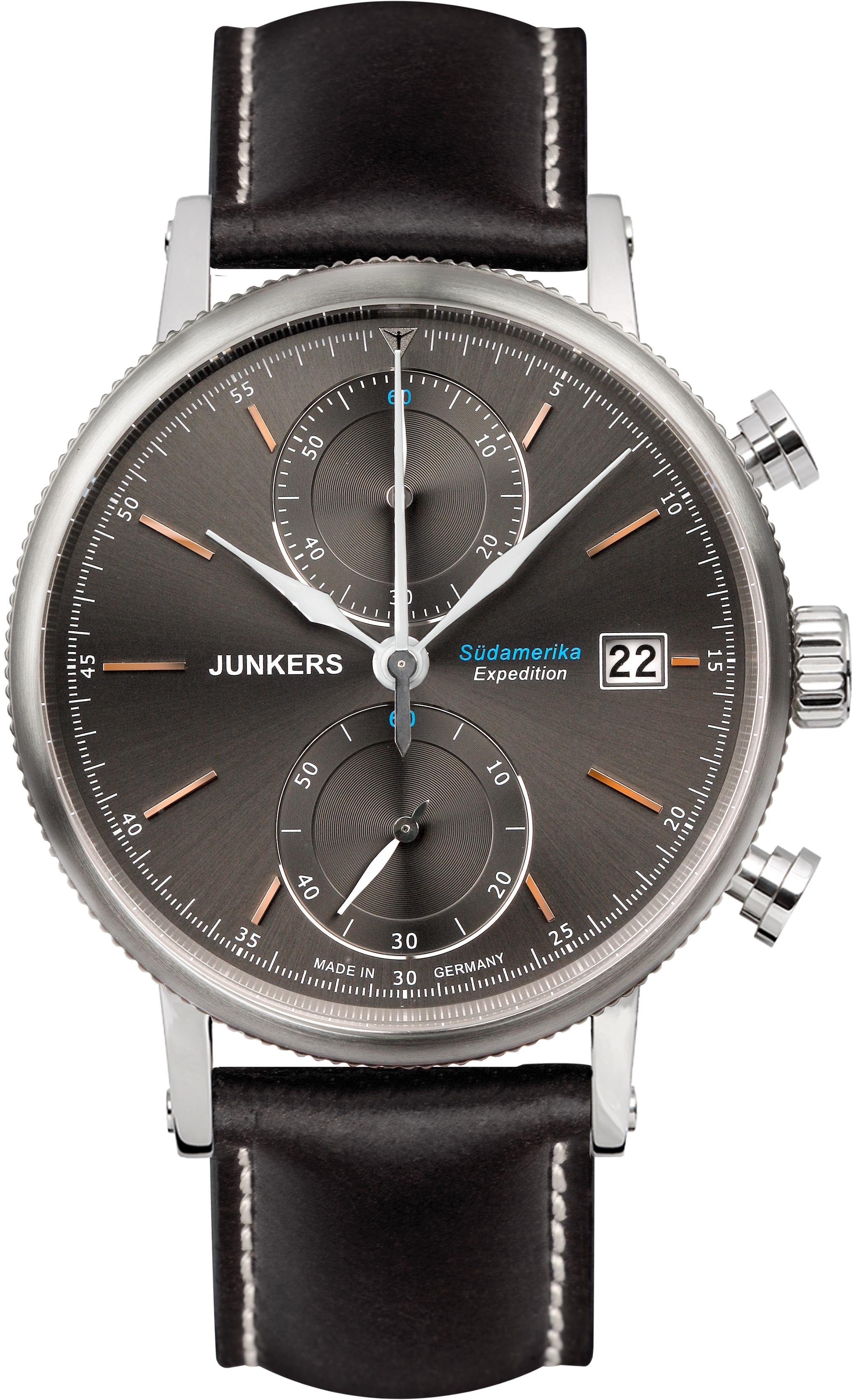 Junkers-Uhren Chronograph »Südamerika, 6588-2« Made in Germany
