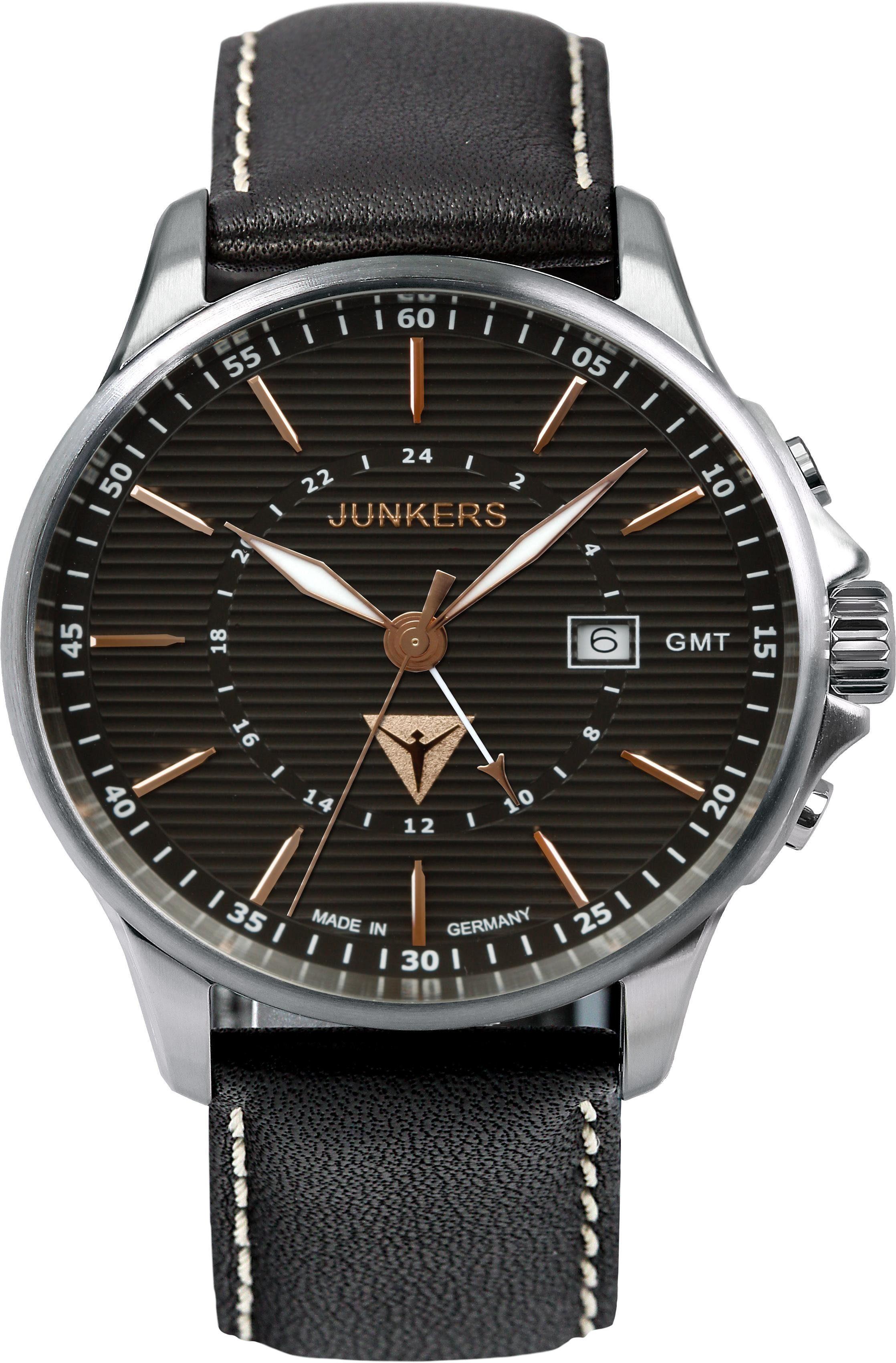 Junkers-Uhren Quarzuhr »Tante Ju, 6842-5«, Made in Germany