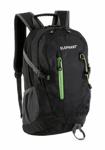 ELEPHANT Sportrucksack, mit Rückenpolster und seitlichen Trinkflaschennetzen