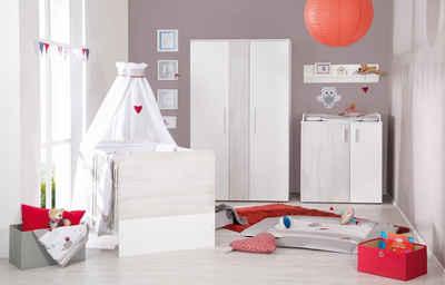 Roba Babyzimmer Set (3 Tlg), Kinderzimmer »Alenja« 2,5