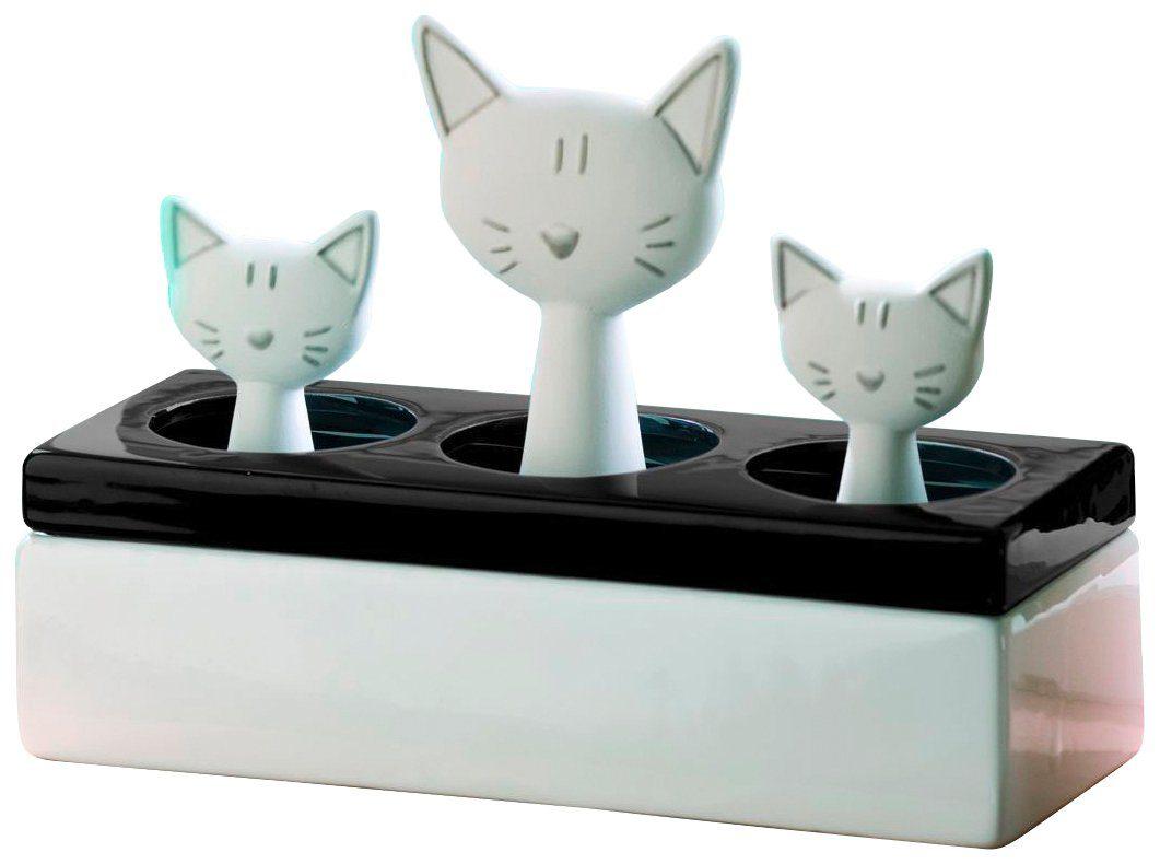 WENKO Luftbefeuchter »Katzenfamilie«